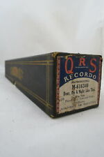 J Lawrence Cook PLAYER PIANO ROLL QRS #M-616340 DEAR ON A NIGHT LIKE THIS