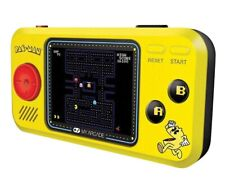 "Pac Man Pocket Player - Handheld w/ 2.75"" Full Color Screen by Dreamgear"