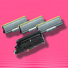 4P TONER+DRUM for Brother TN-360 TN360 TN330 DR-360 DR360 MFC-7440N