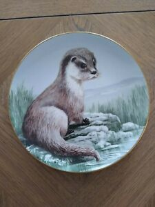 """Staffordshire Bone China """" Winters Orphan!! """"  Plate 23cm Great plate Signed"""