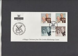 1997 Golden Wedding Happy Christmas Royal Mail London EC1 (Official?) FDC