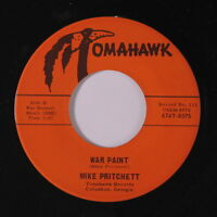 MIKE PRITCHETT: War Paint / Cindy 45 Hear! (almost M-, Awesome R&B bordering on