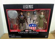 "Marvel Legends Captain America The First Avenger & Peggy Carter 6"" Action Figure"
