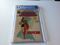 ADVENTURE COMICS 406 CGC 9.4 WHITE PAGES SUPERGIRL STARFIRE COOL COVER DC COMICS