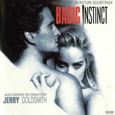 Basic Instinct CD Original Motion Picture Soundtrack by Jerry Goldsmith VSD-5360