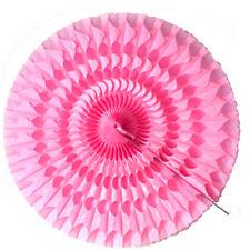 Eventail de décoration Ø 85 cm rose vif decoration salle mariage ceremonie