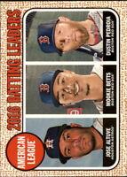 2017 Topps Heritage Baseball Base Singles #1-108 (Pick Your Cards)