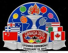 LAPEL PINS 2010 VANCOUVER CANADA OPENING CEREMONY SLV