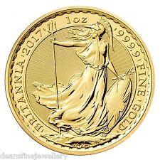 2017 Gold Britannia One Ounce Coin