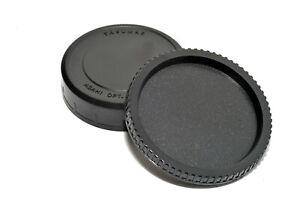 Body & Lens Back Cap Set for Pentax 67 Cameras & Lenses Pentax 6x7 Body Lens Cap