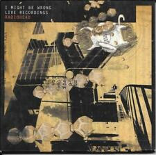 ALBUM DIGIPACK RIGIDE--RADIOHEAD--I MIGHT BE WRONG / LIVE RECORDINGS--2001