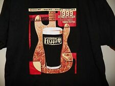 Vintage 1999 GUINESS Beer Fleadh Music Festival Concert Tour T-Shirt XL RARE