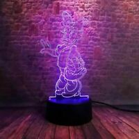 Daisy Duck Illusion LED Lamp, 3D Light Experience - 7 Colors Options