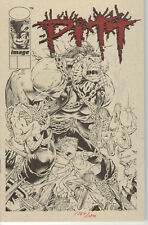 Pitt Deluxe Ashcan Edition #2A 1993 Olive Variant NM with COA