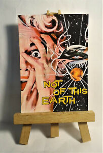 Not of this Earth Movie Poster 1957 ACEO Original PAINTING by Ray Dicken