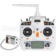 WALKERA Devo 10 Transmitter Receiver White 2km Telemetry 2.4G Remote Control