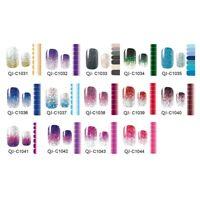 New Fashion Glitter Nagellackstreifen Nagellack Applique Apps Streifen K3U9