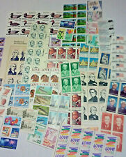 Unused 100 Assorted Mixed Multiples & Singles of 22¢ US Postage Stamps FV $22.00