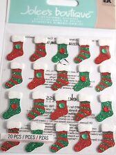 Jolee's Boutique Stocking Repeats Christmas Scrapbook Sticker Embellishment