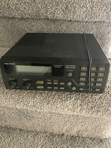 Police Scanner Radio Shack 100 Channel Hyperscan Pro 2040 No Antenna