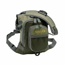 Allen Bear Creek Micro Fishing Chest Vest Olive Free Shipping