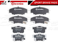 FOR HONDA CIVIC 2.0 TYPE R EP3 2001- FRONT & REAR BREMBO SPORT BRAKE PADS PAD