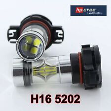 NEW AUDI A3 2011 50w H16 PS19W 5202 CREE LED 3030 BRIGHT WHITE DRL BULBS CANBUS*