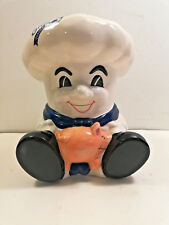 Vintage ENTENMANN'S BAKER with Piggy Bank.  Ceramic Porcelain. Rare Exclusive.