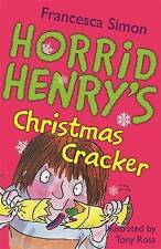 Horrid Henry's Christmas Cracker, Francesca Simon | Paperback Book | Good | 9781