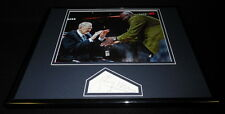 Johnny Red Kerr Signed Framed 11x14 Photo Display Bulls w/ Michael Jordan