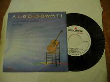 """ALDO DONATI""""E MI METTO A CANTARE-disco 45 giri ROSSODISERA 1986"""""""