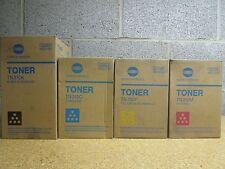 Lot of 4 Genuine Konica Minolta TONER TN310C TN310K TN310M TN310Y