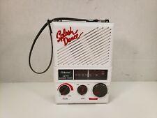 Pollenex Splash Dance Am/Fm Shower Radio Sr-1 White Portable Tested Working