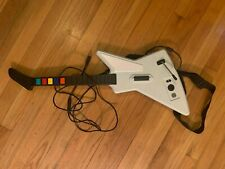 RedOctane X-Plorer white wired controller Guitar Hero Xbox 360