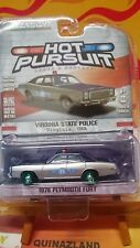 Greenlight Hot Pursuit 1978 Plymouth Fury Police Chase (N19)