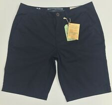 Genuine Fat face men's light weight chino shorts navy blue