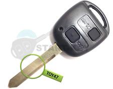 Toyota Schlüssel 2 Tasten Gehäuse  Auris Yaris Corolla Avensis Celica Toy 47 key