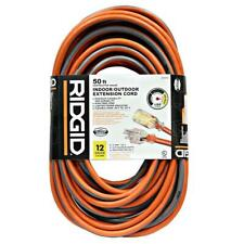 Ridgid 50ft. 12/3 Outdoor Extension Cord