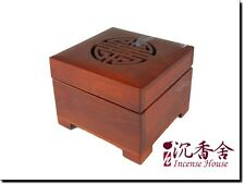 Wood Case - Hualimu Case - For Coil - with a  clip - Taiwan Incense House
