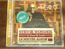 STEVIE WONDER A time to love CD NEUF