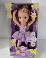 """NEW 1st Issue My First Disney Princess  BABY DOLL BALLERINA RAPUNZEL Tangled 16"""""""