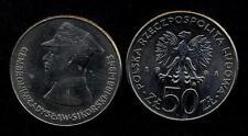POLAND 50 Zlotych 1981 General Broni W.Sikorski  UNC