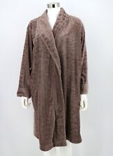 Soma Intimates Plush Robe Womens Taupe Soft Wrap Lounge Robe Size L / XL