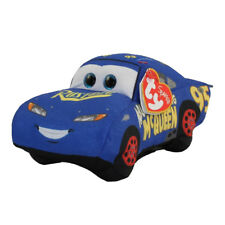 TY Disney / Pixar Cars 3 Beanie Babies FABULOUS MCQUEEN Plush MWMT's New w/ Tags