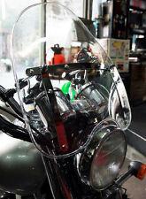 Windshield WindScreen For Harley Dyna Low Rider Wide Super Glide Street Bob C