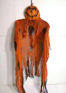 "Gemmy Halloween Motion Activated Door Hanging Talks Spooky & Eyes Light Up 60"""