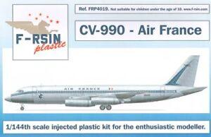 F-rsin 1/144 Convair CV-990 Air France # FRP4019
