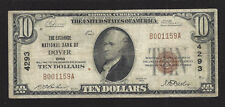 Dover, Ohio, Ch #4293, $10.00, 1929 T-1, Fine+, 30 Reported!