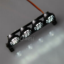 4 LED Spotlight Lights Bar For 1:10 1:8 RC Model Car CC01 D90 SCX10 4WD Crawler