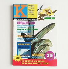 K guida al divertimento elettronico n°1 K24 gennaio 1991 rivista videogiochi